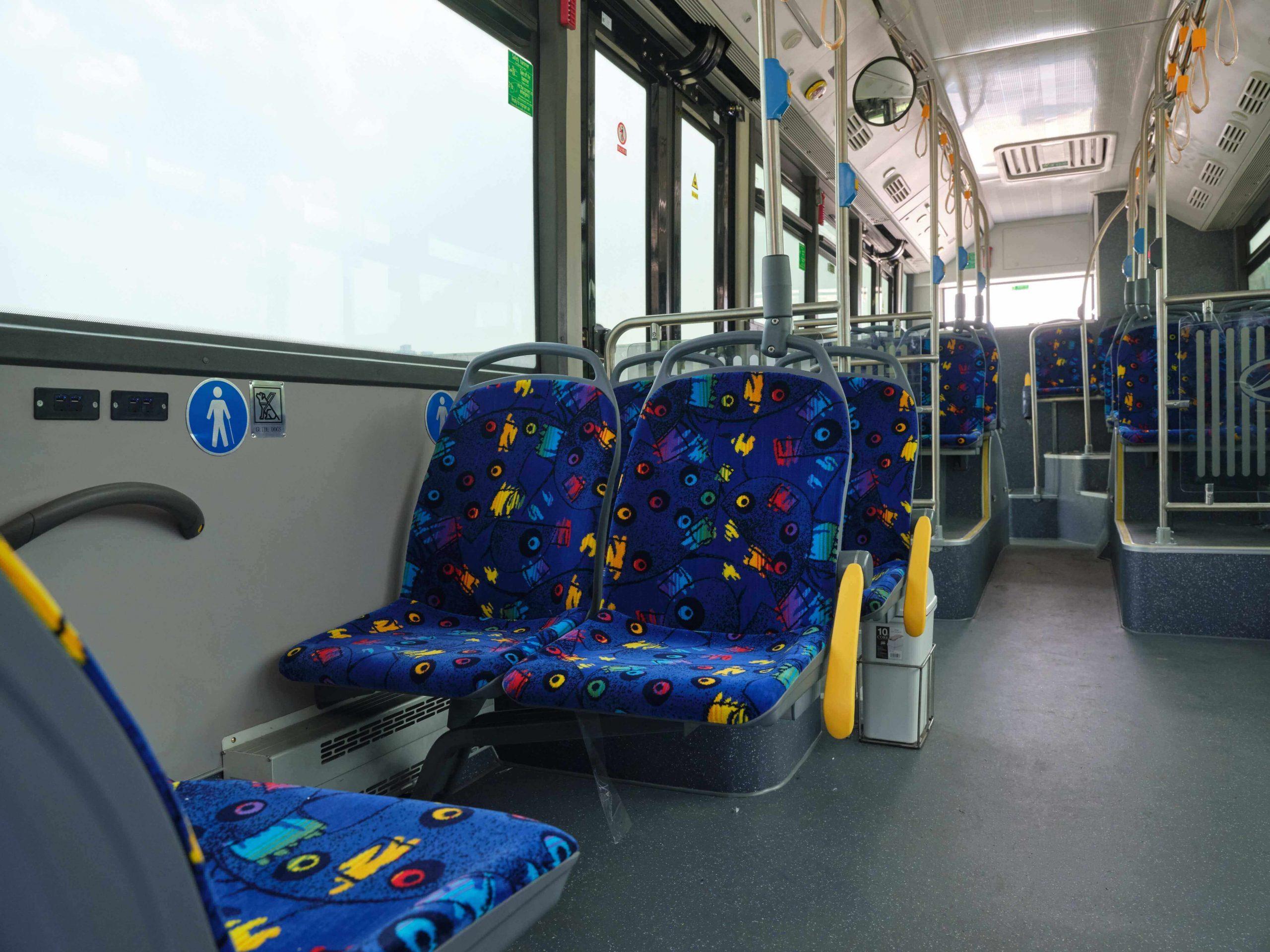 Chariot e-bus interior