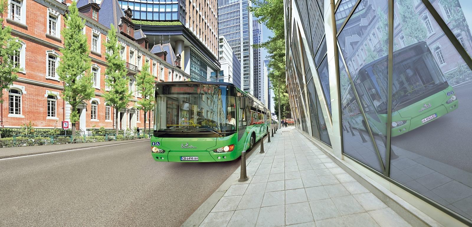 Chariot Motors zero emissions electric buses