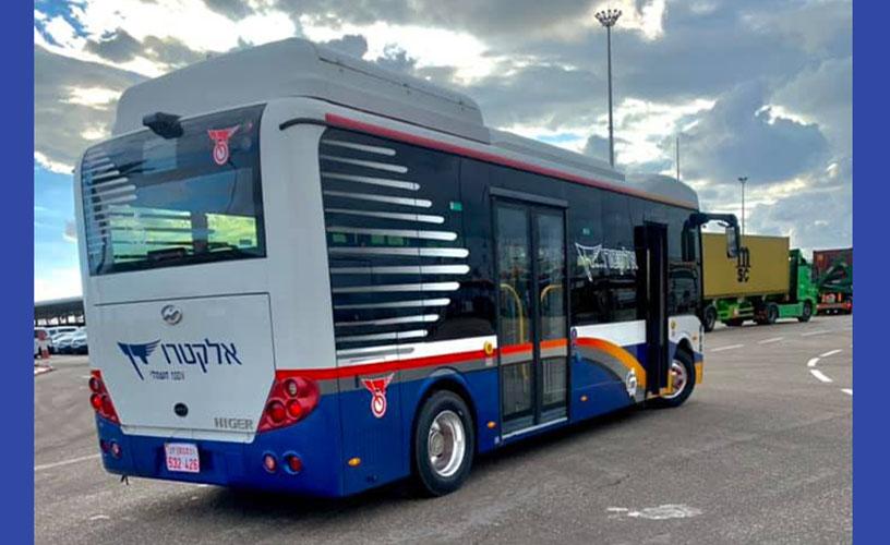 Pandan electric buses in Israel