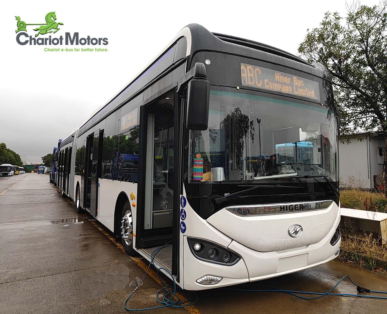 UC 18 m e-bus Chariot Motors